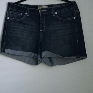 Vintage America Blue Denim Shorts. Like New! SZ 8
